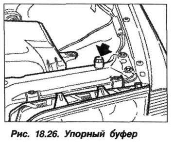 Рис. 18.26. Упорный буфер БМВ X5 E53