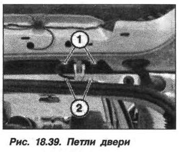 Рис. 18.39. Петли двери БМВ X5 E53