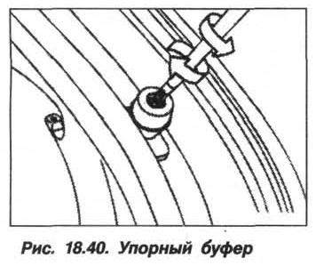 Рис. 18.40. Упорный буфер БМВ X5 E53