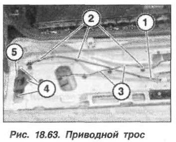Рис. 18.63. Приводной трос БМВ X5 E53