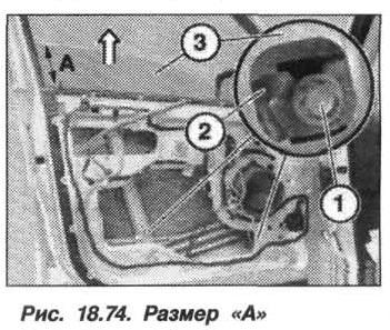 Рис. 18.74. Размер А БМВ X5 E53