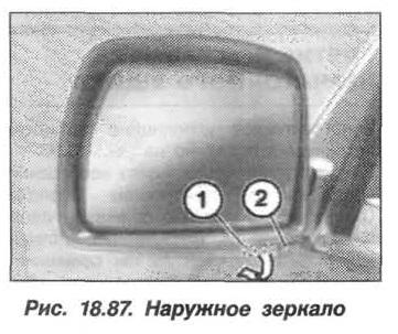 Рис. 18.87. Наружное зеркало БМВ X5 E53
