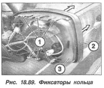 Рис. 18.89. Фиксаторы кольца БМВ X5 E53