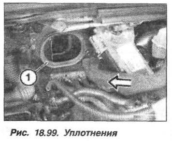 Рис. 18.99. Уплотнения БМВ X5 E53