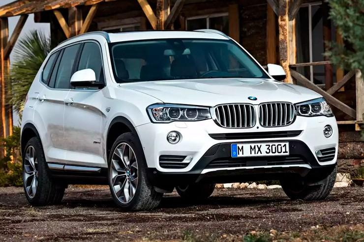 Новый паркетник BMW X3: обнародованы российские цены