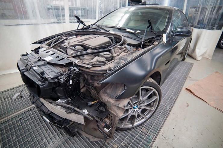 Кузовной ремонт и покраска БМВ Е39