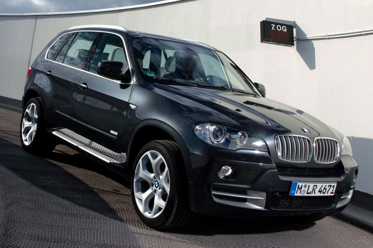Замена моторного масла в BMW X5