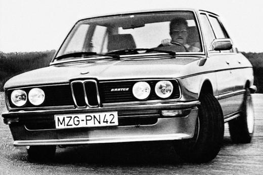 История и эксплуатационные свойства BMW 528i E12
