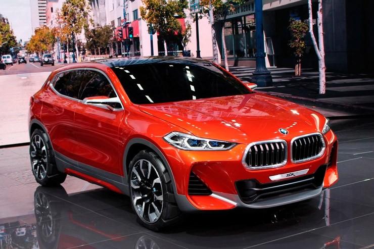 Обновленный BMW X2: цены в России и комплектации