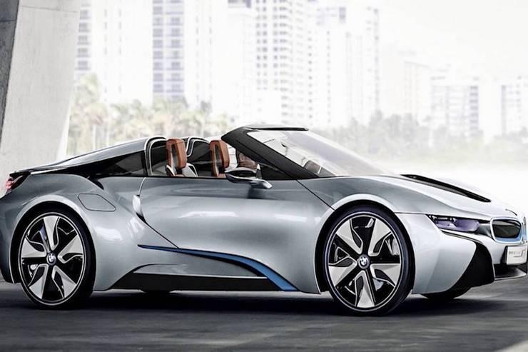 Суперкар BMW i8: модернизированный родстер и купейник
