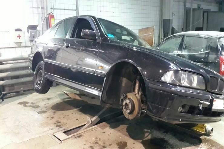 БМВ Е39: кузовной ремонт и покраска